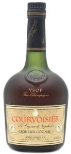 With 680ml stated; Liqueur Cognac. Label has a much lighter colour