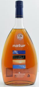 """1Litre; with a sticker: """"for the UK market"""""""