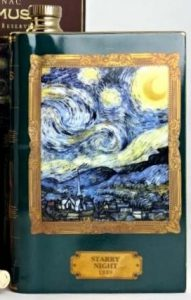 Van Gogh: Starry Night (35cl); click to see different psecimen with content stated.