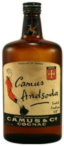 VS cognac used for long drinks; 70cl; approx 1950-60