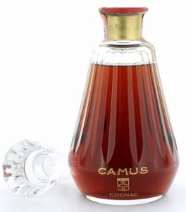 Red on the cap; said to be named 'Centenaire'. (looks very much like the Napoleon bottle...)