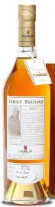 Family Héritage 1972 vintage, bottled 2006