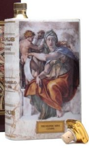 Michelangelo: The Delphic Sibyl, 70cl (click for back-side: the Libyan Sibyl)