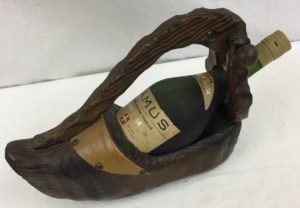 Hors d'Age in a wooden shoe