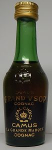 'Camus' is written in small letters above 'Grand VSOP'; 3cl