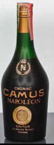 Underneath it reads ´Camus La Grande Marque cognac'; with a paper duty seal.