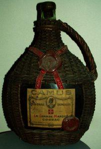 Wicker bottle