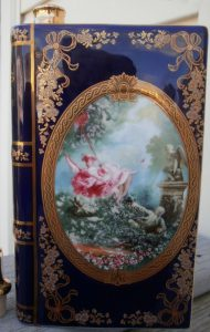 'Love'; limoges Castel; Napoleon Vieille Réserve (look at the 'e' just visible at the back: the last letter of veille réserve)