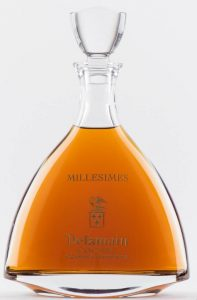 Millesimes: blend of 40 years and older grande champagne vintages