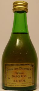 5cl bottle; Grande fine champagne; screw cap