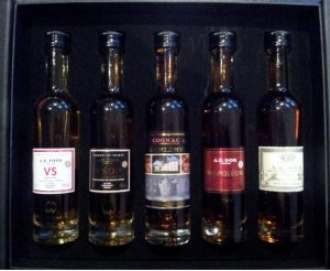 Set 10cl: vs, vsop, embleme, napoleon, xo