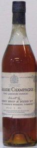Grande Champagne fine liqueur cognac; 40% vol; 68cl; blue cap