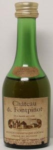 5cl, necklabel with grande champagne cognac; smaller photo; importer data underneath
