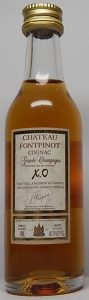 5cl Chateau Fontpinot; on lower left 50ml and on lower right ALC41%BYVOL