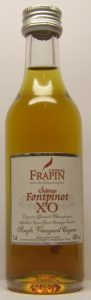 5cl Frapin Chateau Fontpinot XO; with the feather emblem