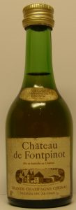5cl, necklabel with grande champagne cognac; smaller photo