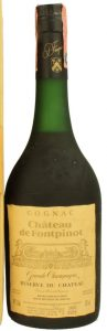 Chateau de Fontpinot, grande champagne; Reserve du Chateau; Frapin named on the cap, not on the label; 75cl; 1970-80s
