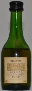 4.5cl stated; Frapin is on top of the label