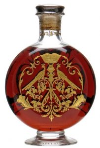 Cuvée Rabelais second edition (1994); on the neck is printed: Cognac Frapin - Age Inconnu