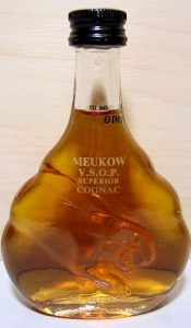 5cl VSOP; 50ml stated on the front side; number on the neck; round snout