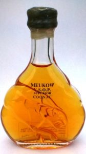 5cl VSOP, content not stated on front; gap between paws is wider; head is not right