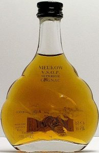 5cl VSOP; 50ml stated on the front side; e5cl stated on the backside; barcode
