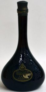 With NPU differently stated and with 'grande champagne' on it; green label, bleu bottle