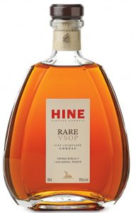 750ml stated; RARE VSOP fine champagne cognac ; 40%alc/vol (not in capitals); and with name and address line