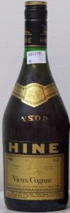 VSOP vieux cognac; 24 fl ozs. stated above on the right