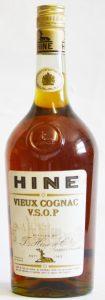 VSOP vieux cognac; paillarde like shape; 1L