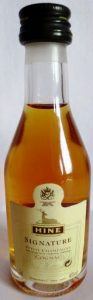 3cl petite champagne stated; with a recycling symbol; black cap