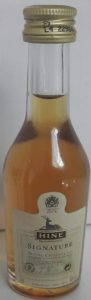 3cl petite champagne stated; with a cotisation and a recycling symbol