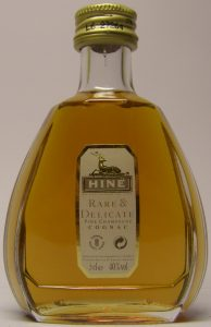 5cl Rare & Delicate; with a cotisation and a recycling symbol; Rare & Delicate in gold letters