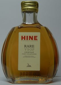 content (5cl) not stated; description: RARE - VSOP - cognac - Fine Champagne; with a paper seal on top