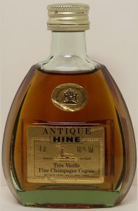 4cl stated; 'Antique' placed above 'Hine'