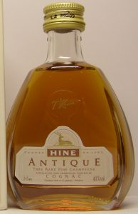5cl stated; paper shoulder label in cognac colour