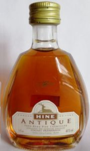 5cl stated; 'Cognac Frankreich' stated