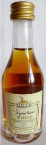 3cl VSOP Signature; gold coloured cap