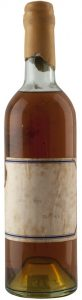 Stating 'Hines' 1935; said to be a Hine; same as previous, but with the cork renewed.