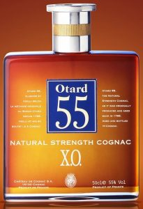 50cl natural strenght, 55%; 'e' after 50cl is bigger and more distance between 55% and 'Vol'.