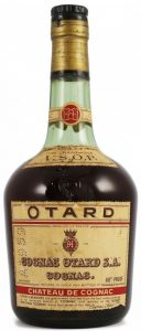 VSOP, text underneath in English (1950s); with 68%Proof stated; on shoulder label VSOP is printed below 'fine champagne