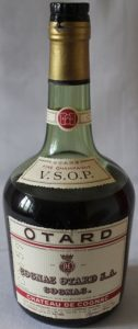 70cl 1950-60s; no ABV stated; on shoulder label VSOP is printed below 'fine champagne'