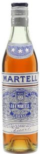 35cl three stars; bicoloured cap; text underneath in French