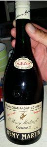 700ml stated; 1970s; on the neck label: 'Qualité du Centaure' below VSOP
