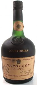 40%Vol and 0,70l stated underneath (1980s); in small print: 'the brandy of Napoléon' in English.