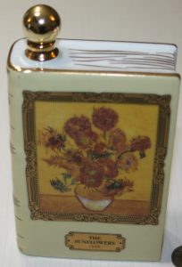 Van Gogh: Sunflowers (35cl); round stopper; click to see content
