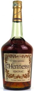 XXX-Very Special; 68cl stated in the right bottom corner and 70proof and 40%vol on the bottom left (1970s)