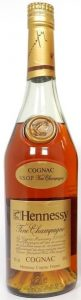 Fine champagne; two lines on the neck label: Cognac - VSOP Fine Champagne; just one line below underneath cognac; 68cl stated