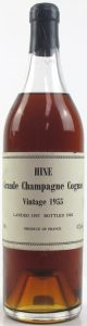 1955 grande champagne, landed 1959, bottled 1982 68cl