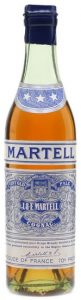 37.5cl (stated at auction) three stars, blue spring cap (1950s); Produce of France and 70 Proof underneath